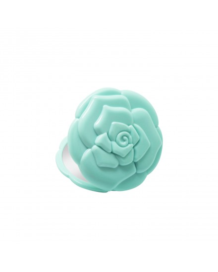 Rose Compact Mirror (Mint)