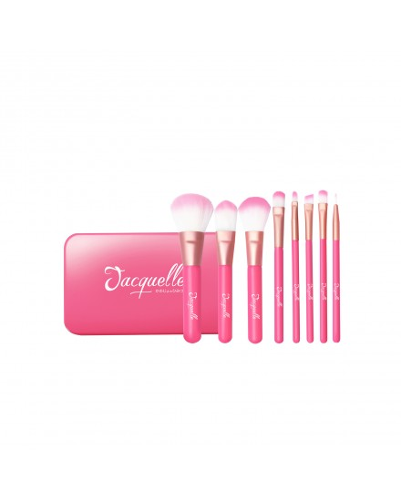 Flamingo Brush Travel Set