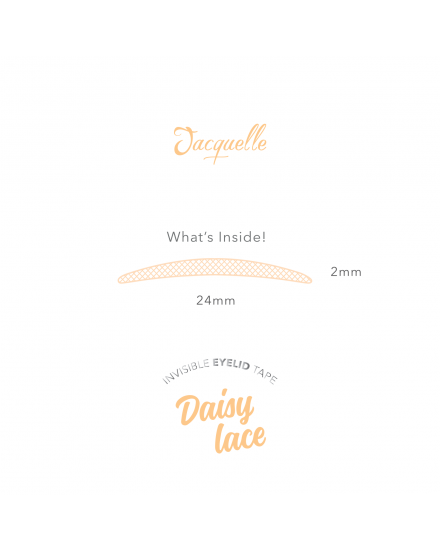 Invisible Eyelid Tape Lace - Daisy Lace