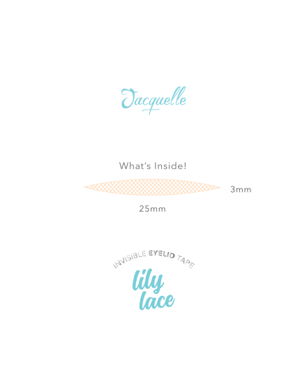 Lace Invisible Eyelid Tape - Lily Lace