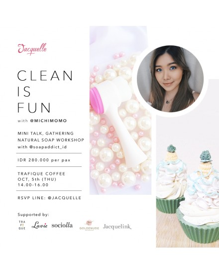 Jacquelle Event - Clean Is Fun Ticket