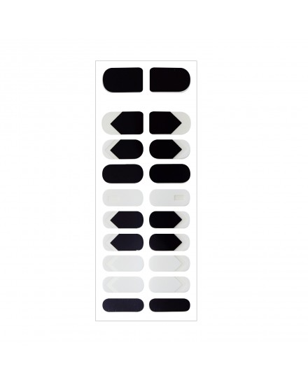 Nail Sticker - Black & White