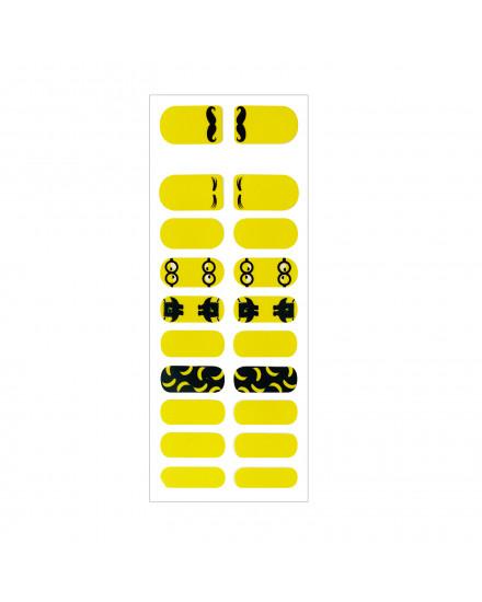 Nail Sticker - I Love banana