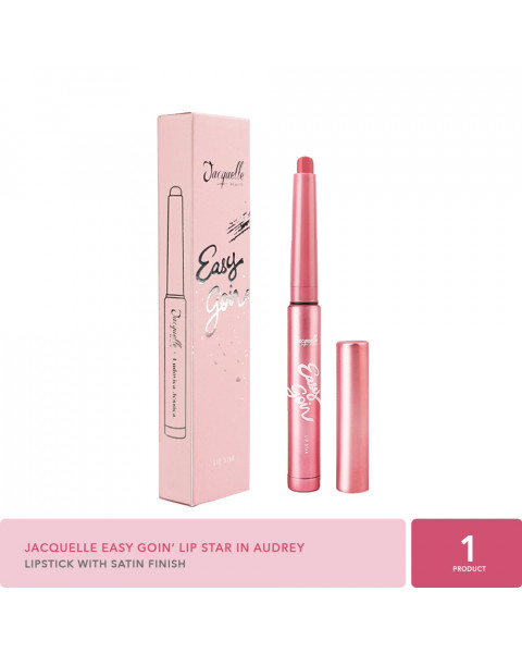 Jacquelle x Ludovica EasyGoin' Lip Star in Audrey