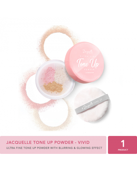 Jacquelle Tone Up Powder - Vivid