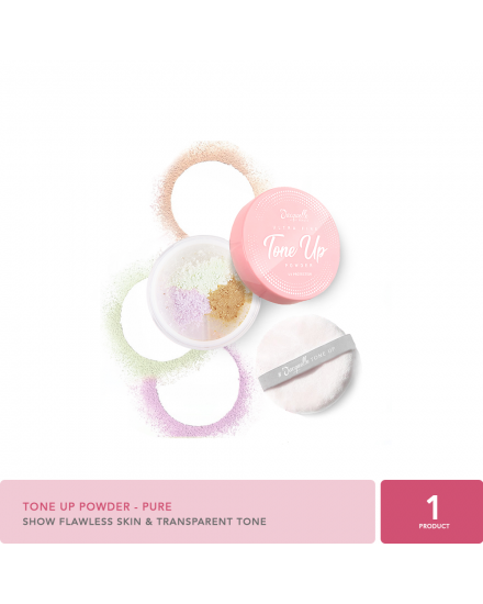 Jacquelle Tone Up Powder - Pure
