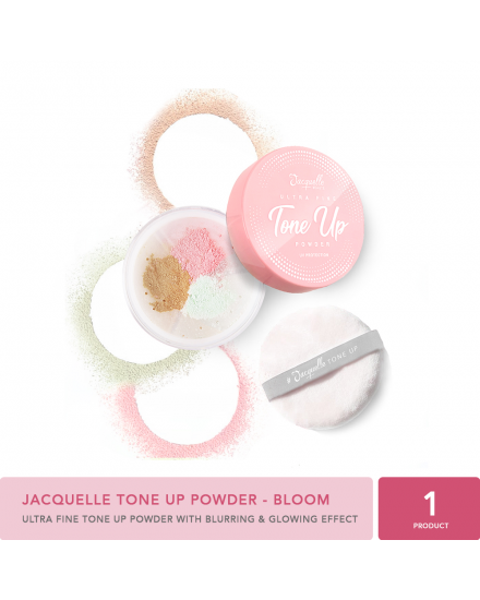 Jacquelle Tone Up Powder - Bloom