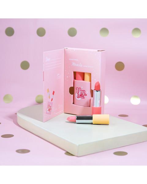 YOY by Jacquelle Disney Edition LipTwins Pink Citrus