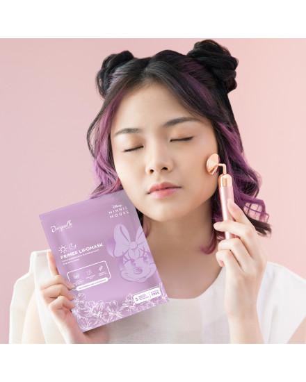 Jacquelle Electric Rose Quartz Face Massager
