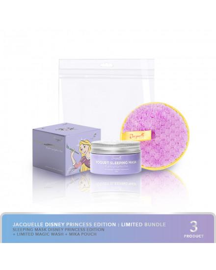 [LIMITED BUNDLE] Jacquelle Yogurt Sleeping Mask / Moisturizer (Probiotic) Disney Rapunzel Editiion