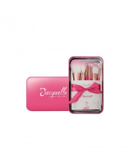 Flamingo Brush Travel Set